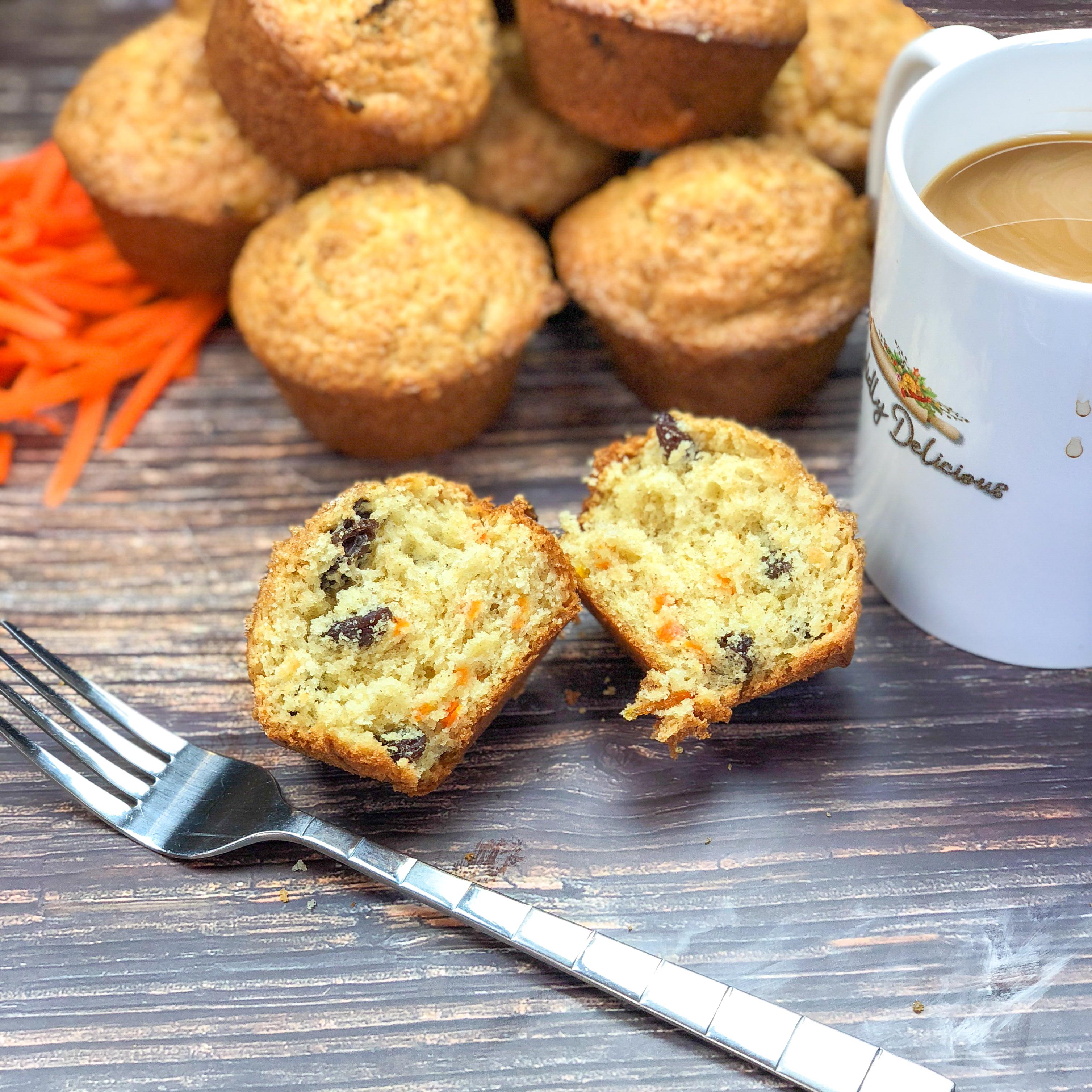 Carrot Raisin Muffins 1