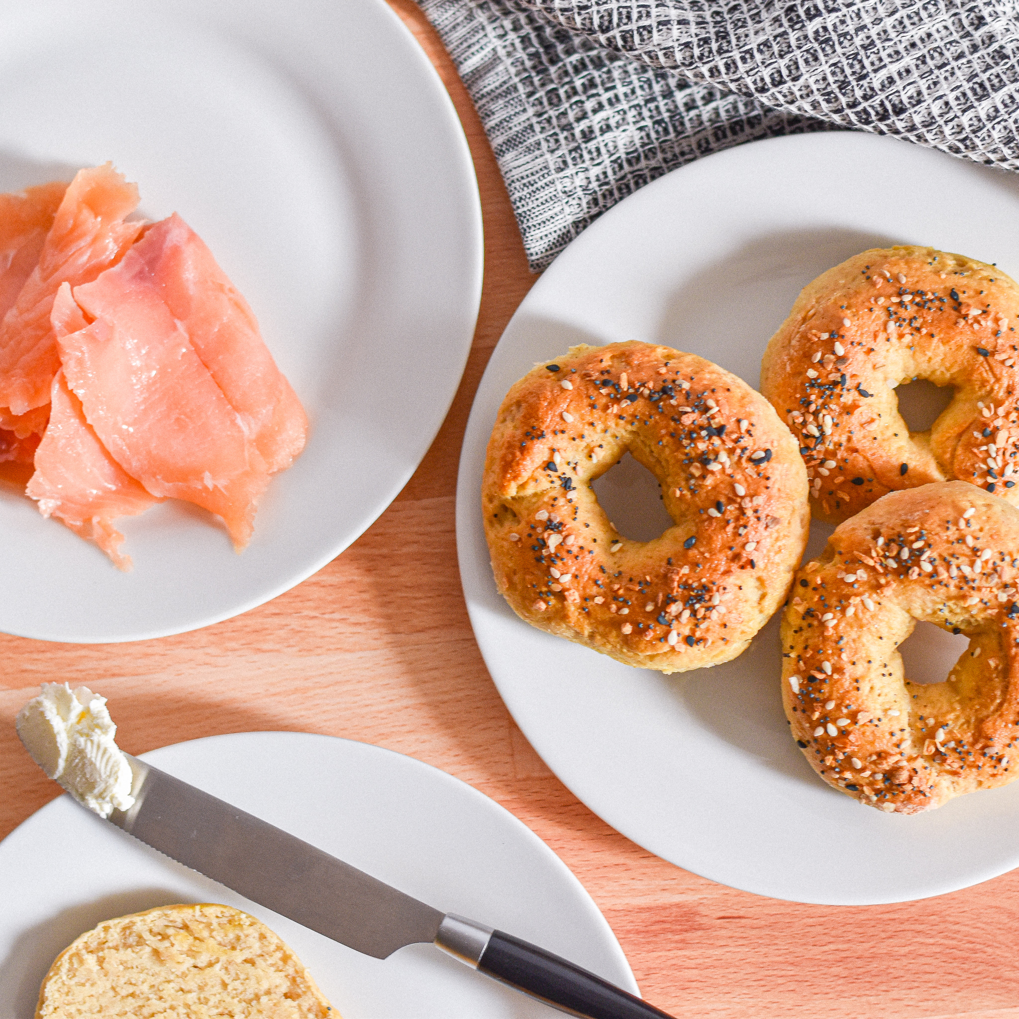 2-Ingredient Bagels by Candidly Delicious
