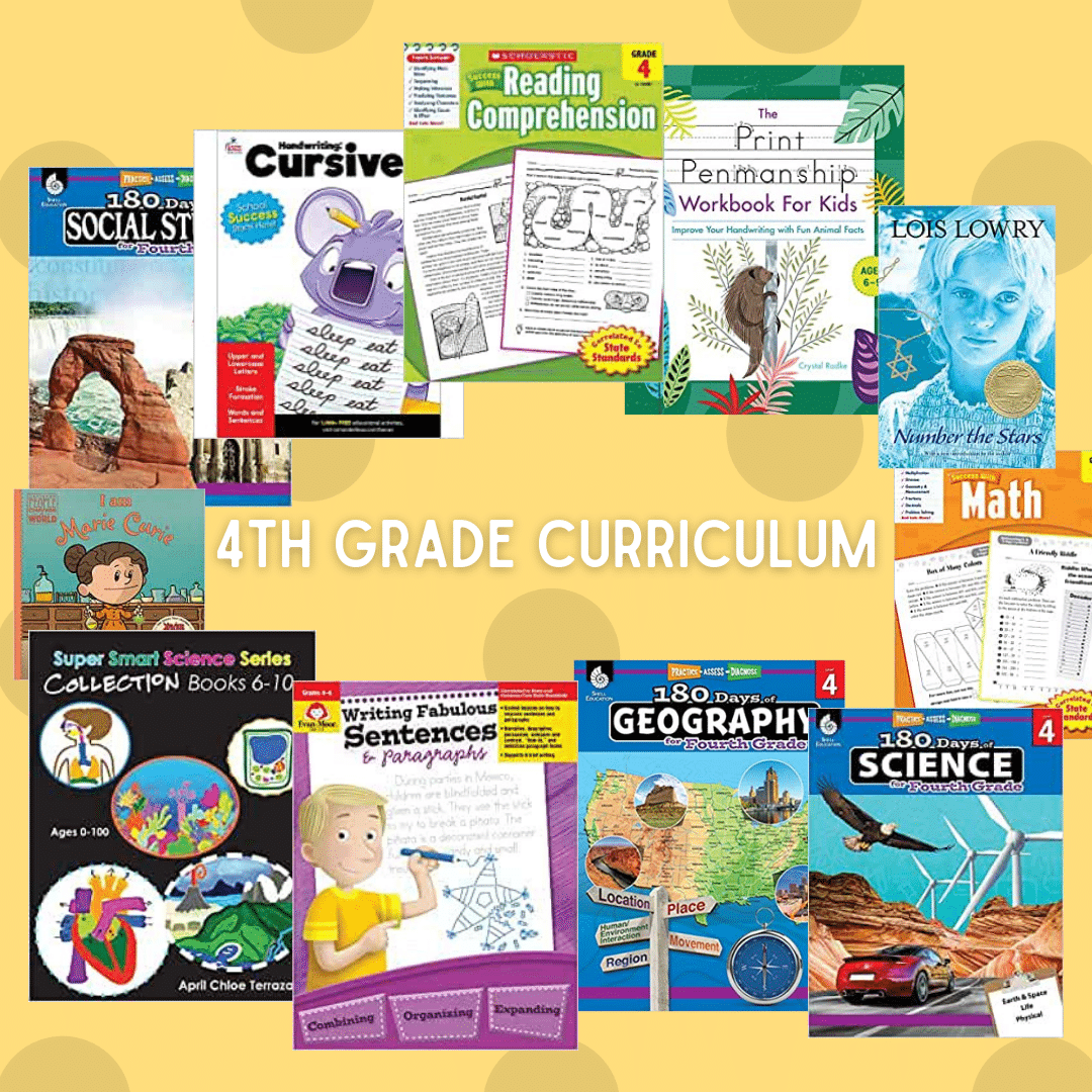 4th Grade Curriculum by TamarBlogs