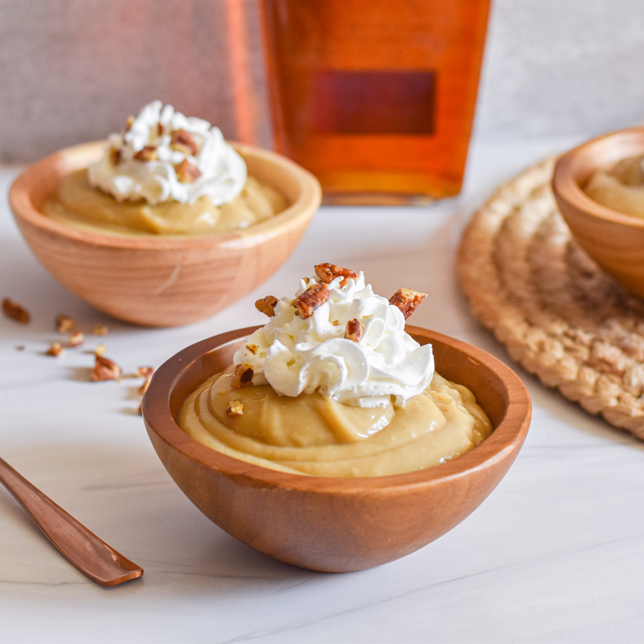 Authentic Butterscotch Pudding by Candidly Delicious
